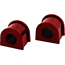 Energy Susp 19.5105R Sway Bar Bushing - Red, Direct Fit, Set of 2 Front