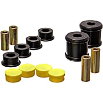 Energy Susp 19.7101G Trailing Arm Bushing - Black, Polyurethane, Direct Fit, Set of 4