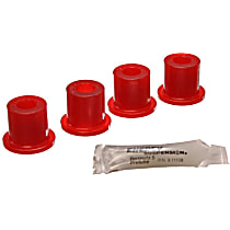 2.2105R Shackle Bushing - Red, Polyurethane, Direct Fit