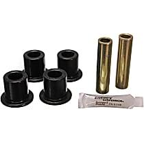 2.2110G Shackle Bushing - Black, Polyurethane, Direct Fit
