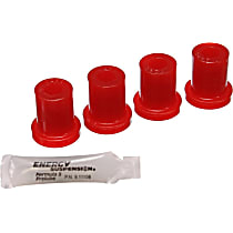 Energy Susp 2.2117R Shackle Bushing - Red, Polyurethane, Direct Fit