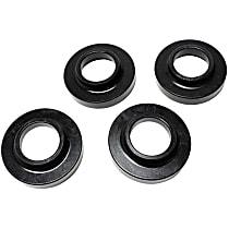 2.6103G Coil Spring Insulator - Black, Polyurethane, Direct Fit, Set of 2