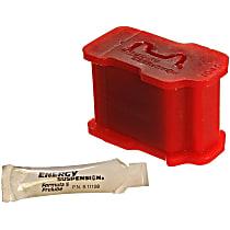 3.1111R Torque Rod Bushing - Red, Polyurethane, Direct Fit