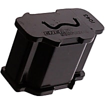 3.1112G Torque Rod Bushing - Black, Polyurethane, Direct Fit