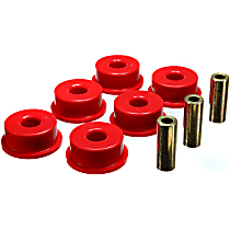 3.1153R Differential Carrier Bushing - Red, Polyurethane, Direct Fit