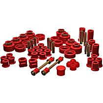 Energy Susp 3.18101R Master Bushing Kit - Red, Polyurethane, Direct Fit, Kit