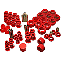 Energy Susp 3.18102R Master Bushing Kit - Red, Polyurethane, Direct Fit, Kit