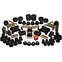 3.18105G Master Bushing Kit - Black, Polyurethane, Direct Fit, Kit