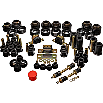 Energy Susp 3.18107G Master Bushing Kit - Black, Polyurethane, Direct Fit, Kit