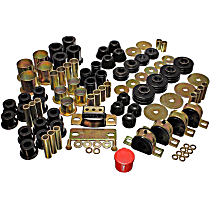 3.18109G Master Bushing Kit - Black, Polyurethane, Direct Fit, Kit