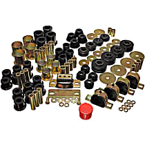 Energy Susp 3.18109G Master Bushing Kit - Black, Polyurethane, Direct Fit, Kit
