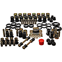 Energy Susp 3.18112G Master Bushing Kit - Black, Polyurethane, Direct Fit, Kit