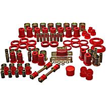 3.18112R Master Bushing Kit - Red, Polyurethane, Direct Fit, Kit