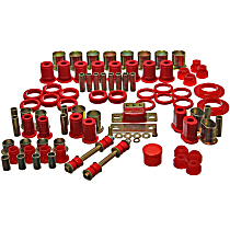 Energy Susp 3.18112R Master Bushing Kit - Red, Polyurethane, Direct Fit, Kit