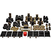 Master Bushing Kit - Black, Polyurethane, Direct Fit, Kit
