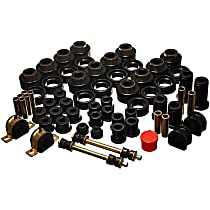 3.18127G Master Bushing Kit - Black, Polyurethane, Direct Fit, Kit