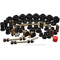 3.18128G Master Bushing Kit - Black, Polyurethane, Direct Fit, Kit