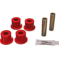 3.2124R Shackle Bushing - Red, Polyurethane, Direct Fit