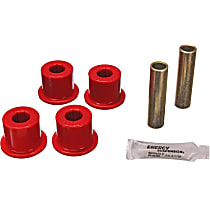 3.2126R Shackle Bushing - Red, Polyurethane, Direct Fit