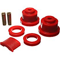 3.4125R Subframe Bushing - Red, Polyurethane, Direct Fit, Kit