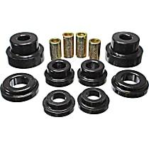 Energy Suspension 3.4169G Subframe Bushing - Black, Polyurethane, Direct Fit, Kit