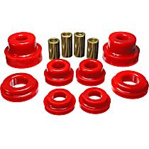 3.4169R Subframe Bushing - Red, Polyurethane, Direct Fit, Kit