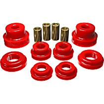 Energy Susp 3.4169R Subframe Bushing - Red, Polyurethane, Direct Fit, Kit
