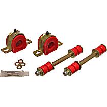 3.5122R Sway Bar Bushing - Red, Polyurethane, Direct Fit, Set of 2