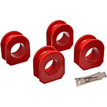 Energy Susp 3.5148R Sway Bar Bushing - Red, Direct Fit, Set of 2 Rear