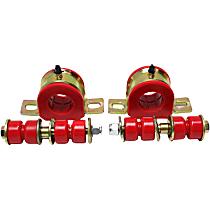 3.5207R Sway Bar Bushing - Red, Polyurethane, Direct Fit, Set of 2