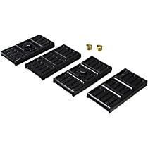 Energy Suspension 3.6113G Leaf Spring Plate Bushing - Black, Polyurethane, Direct Fit