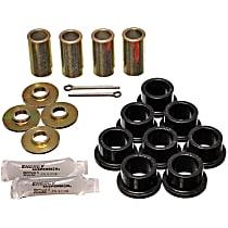 3.7101G Strut Rod Bushing - Black, Polyurethane, Direct Fit, 2-arm set