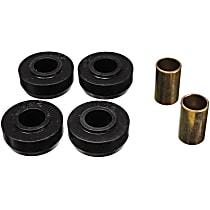 3.7105G Strut Rod Bushing - Black, Polyurethane, Direct Fit, 2-arm set