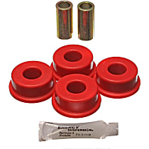 3.7111R Track Rod Bushing - Red, Polyurethane, Direct Fit