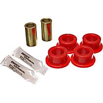 3.7116R Track Rod Bushing - Red, Polyurethane, Direct Fit