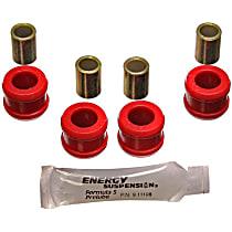 Energy Suspension 3.8101R Sway Bar Link Bushing - Red, Polyurethane, Direct Fit, 2-end-link set