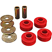 4.1126R Differential Carrier Bushing - Red, Polyurethane, Direct Fit