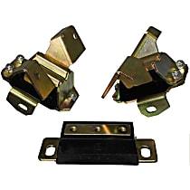 4.1137G Motor and Transmission Mount Bushing - Black, Polyurethane, Direct Fit