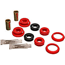 4.3121R Axle Pivot Bushing - Red, Polyurethane, Direct Fit