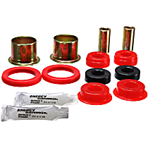 4.3133R Axle Pivot Bushing - Red, Polyurethane, Direct Fit