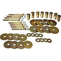 4.4106 Body Mount Hardware Kit - Polyurethane, Direct Fit