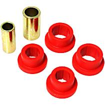 Track Rod Bushing - Red, Polyurethane, Direct Fit