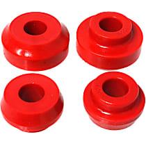 4.7110R Radius Arm Bushing - Red, Polyurethane, Direct Fit, Kit