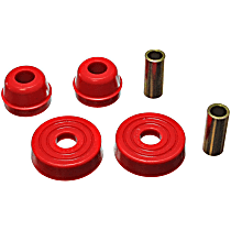 Energy Suspension 4.7114R Strut Mount Bushing - Red, Polyurethane, Direct Fit, Kit