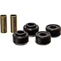 4.7118G Strut Rod Bushing - Black, Polyurethane, Direct Fit, 2-arm set