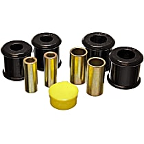 4.7123G Trailing Arm Bushing - Black, Polyurethane, Direct Fit, Set of 4