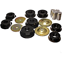 Subframe Bushing - Black, Polyurethane, Direct Fit