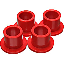 Steering Rack Bushing - Red, Polyurethane, Direct Fit, Kit
