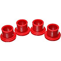 Energy Susp 5.10104R Steering Rack Bushing - Red, Direct Fit