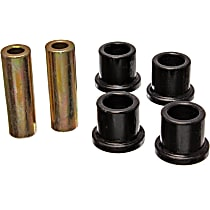 Steering Rack Bushing - Black, Direct Fit